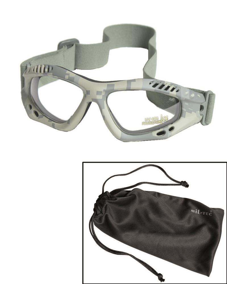 Brýle Commando Air čiré - AT-digital