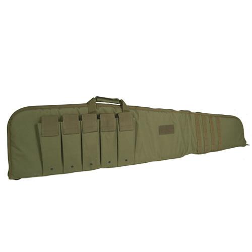Pouzdro na pušku Modular s popruhem 140 cm - olivové