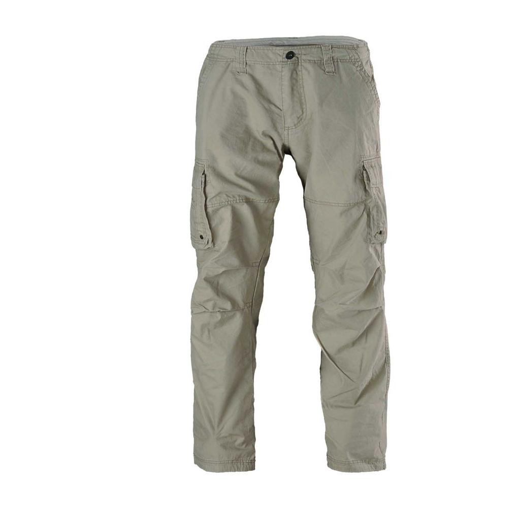 Kalhoty Vintage Industries Reef - béžové