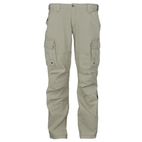Kalhoty Vintage Industries Reef - šedé