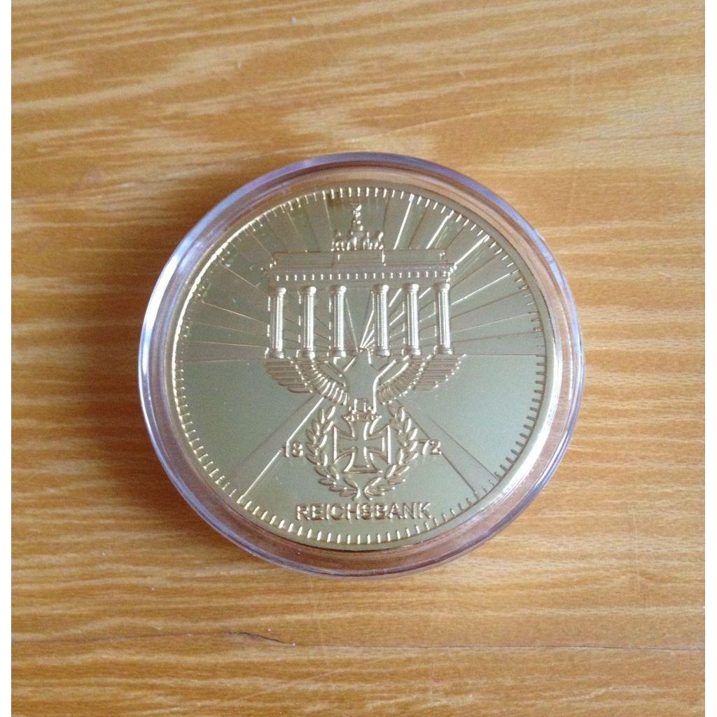 Pamětní mince Reichbank 1872 - zlatá
