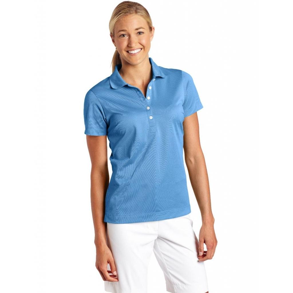 Dámská polokošile Nike Dri-Fit Woman - modrá