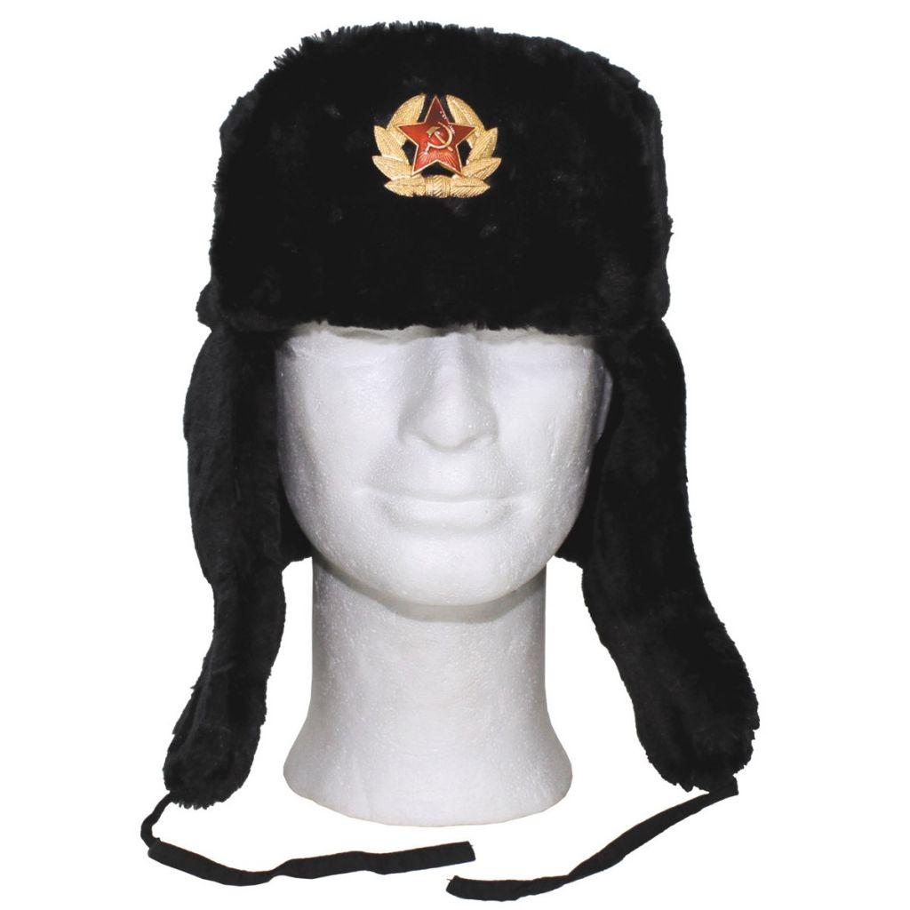 Ruská beranice - černá
