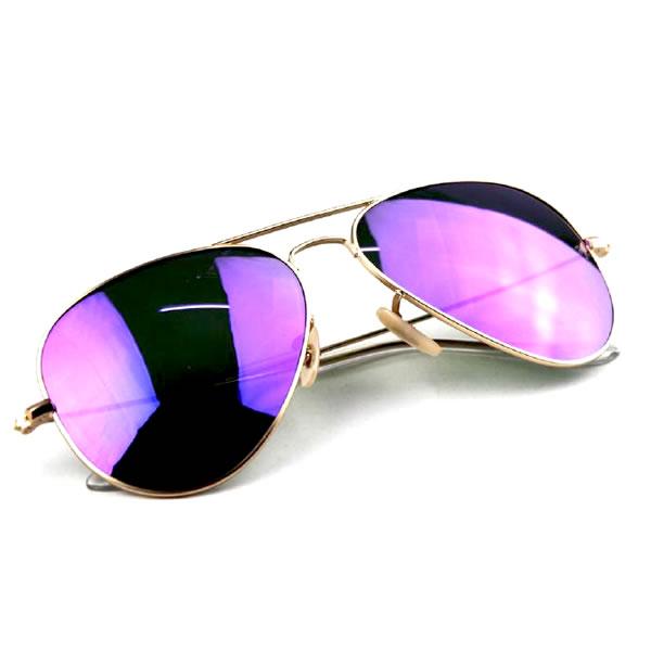 a17970d71 Slnečné okuliare Aviator - fialové - Army a outdoor vybavenie