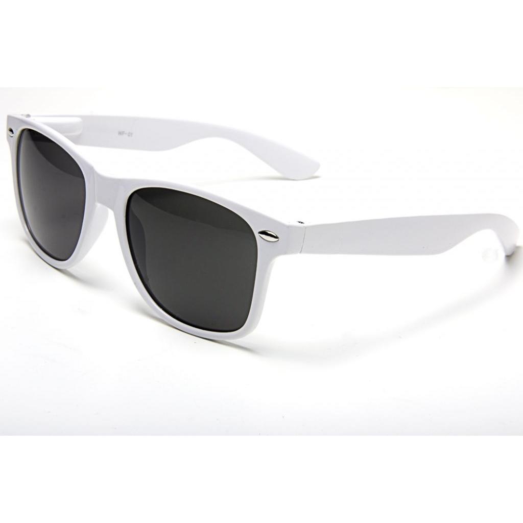 Retro brýle Wayfarer - bílé
