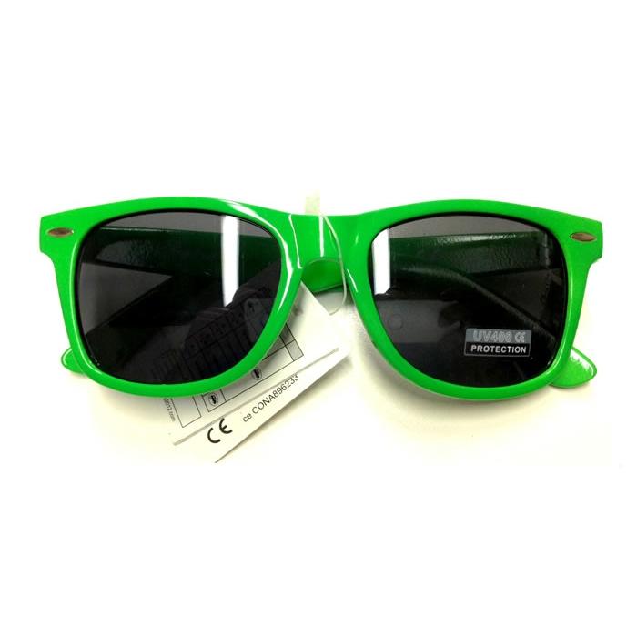 Retro brýle Wayfarer - zelené