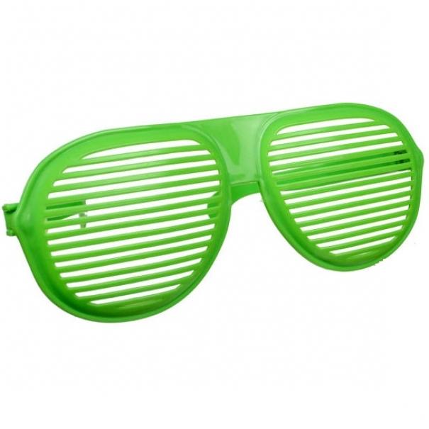 Mega party brýle - zelené