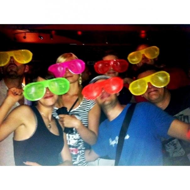 Mega party brýle - žluté