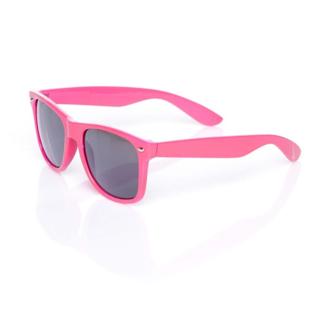 Retro okuliare Wayfarer detské - ružové - Originálne darčeky a gadgety 5f933bfdcb4