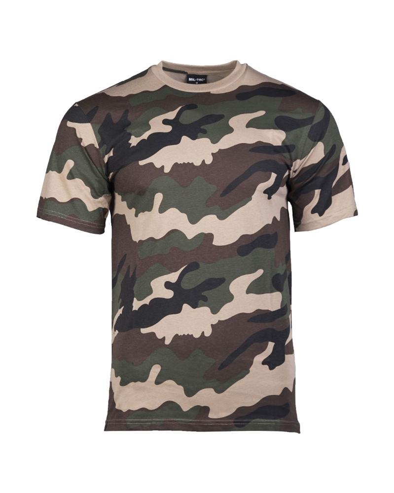 4f21b5696 Maskáčové tričko s krátkym rukávom - CCE - Móda vo väčších veľkostiach