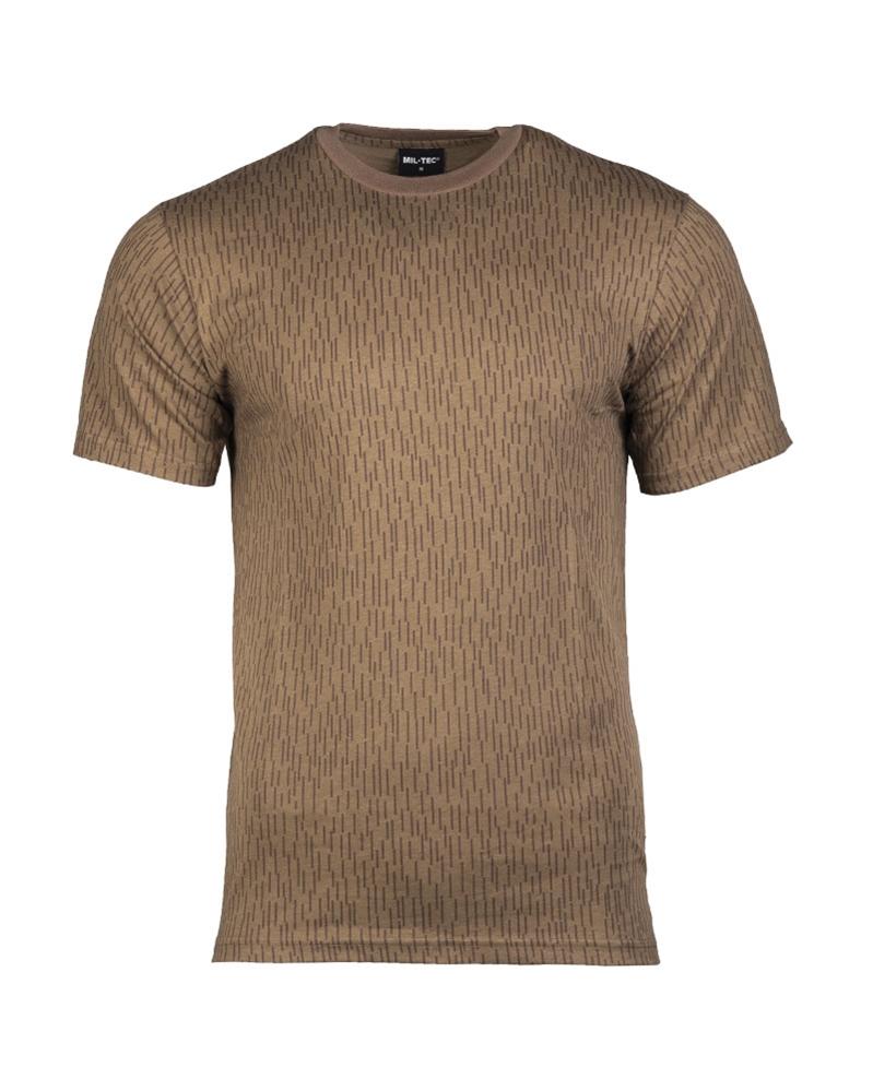 Maskáčové tričko s krátkým rukávem - NVA
