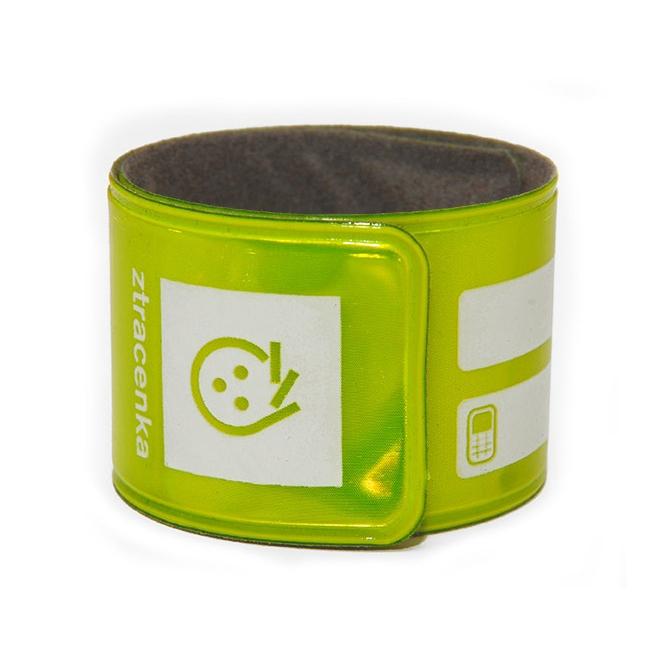 Reflexní páska Ztracenka - žlutá