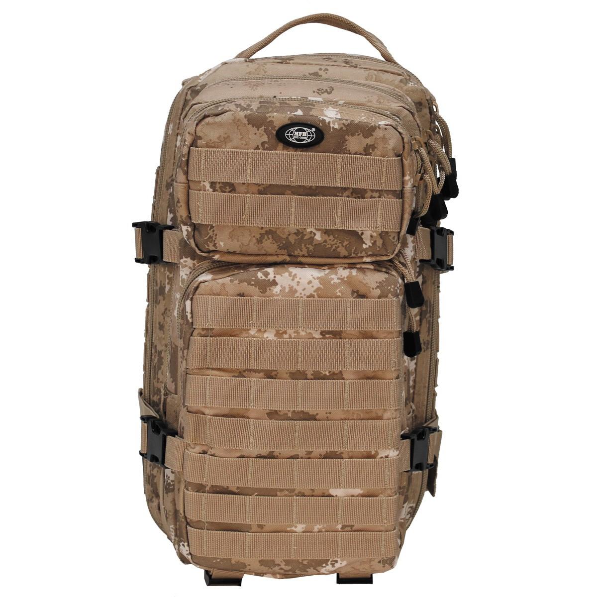 Batoh MFH US Assault S - vegetato desert