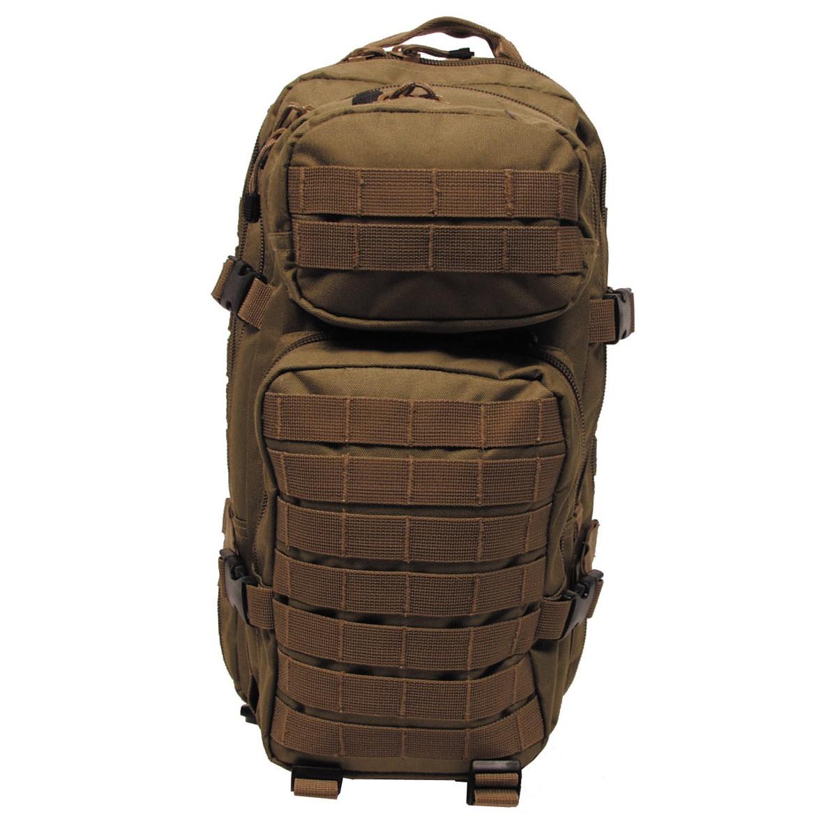 Batoh MFH US Assault S - coyote