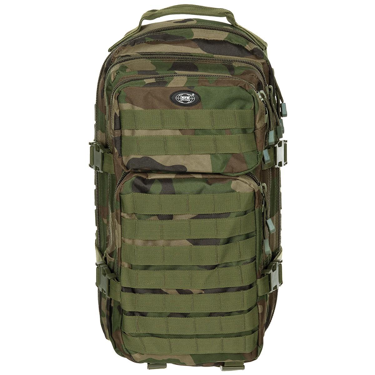 Batoh MFH US Assault S - woodland