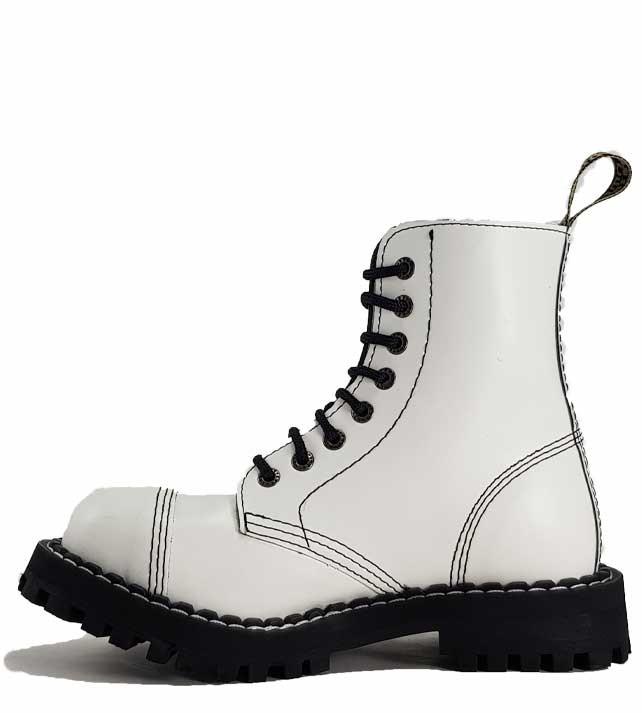 Boty Steel 8-dírkové - bílé - Army shop a outdoor vybavení e54a1b7577