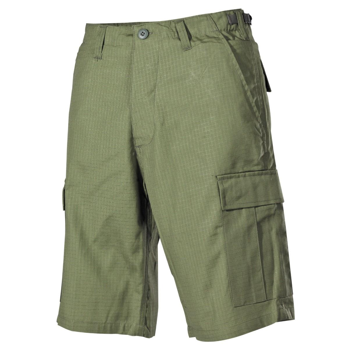 422f4ec3f Krátke nohavice MFH US BDU Rip-Stop - olivové - Army a outdoor vybavenie