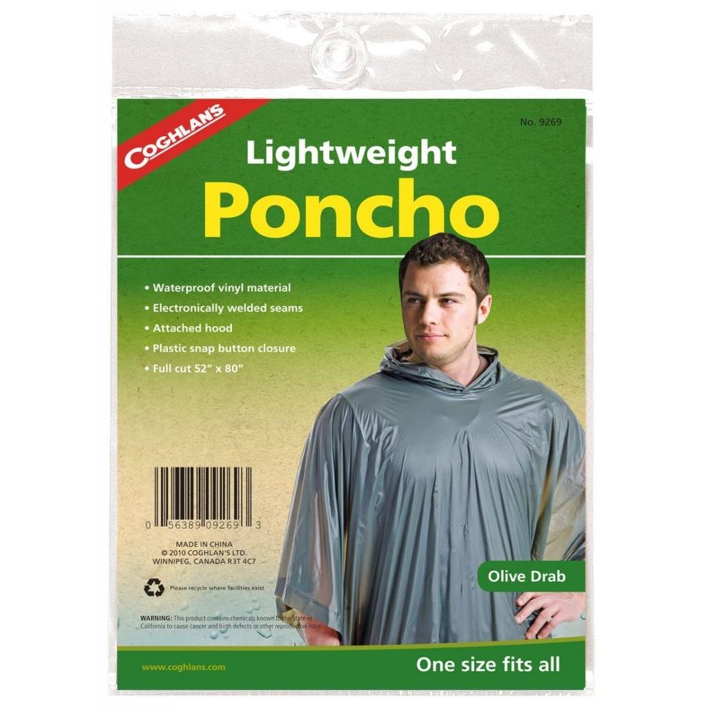 Pončo Coghlans Lightweight - olivové