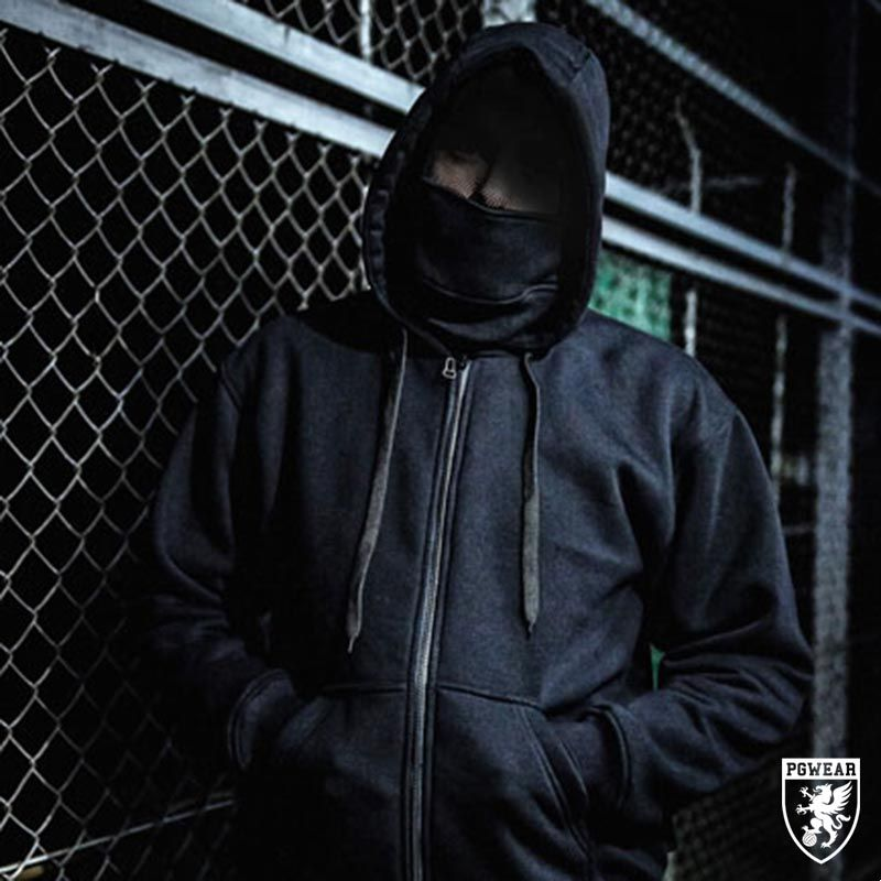 Mikina PGwear Safety Hoodie - černá