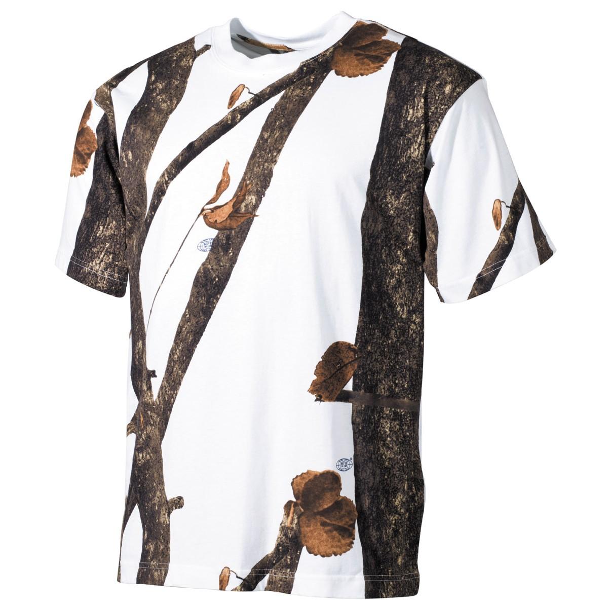 Tričko s krátkym rukávom MFH Hunter - hunter-snow, S