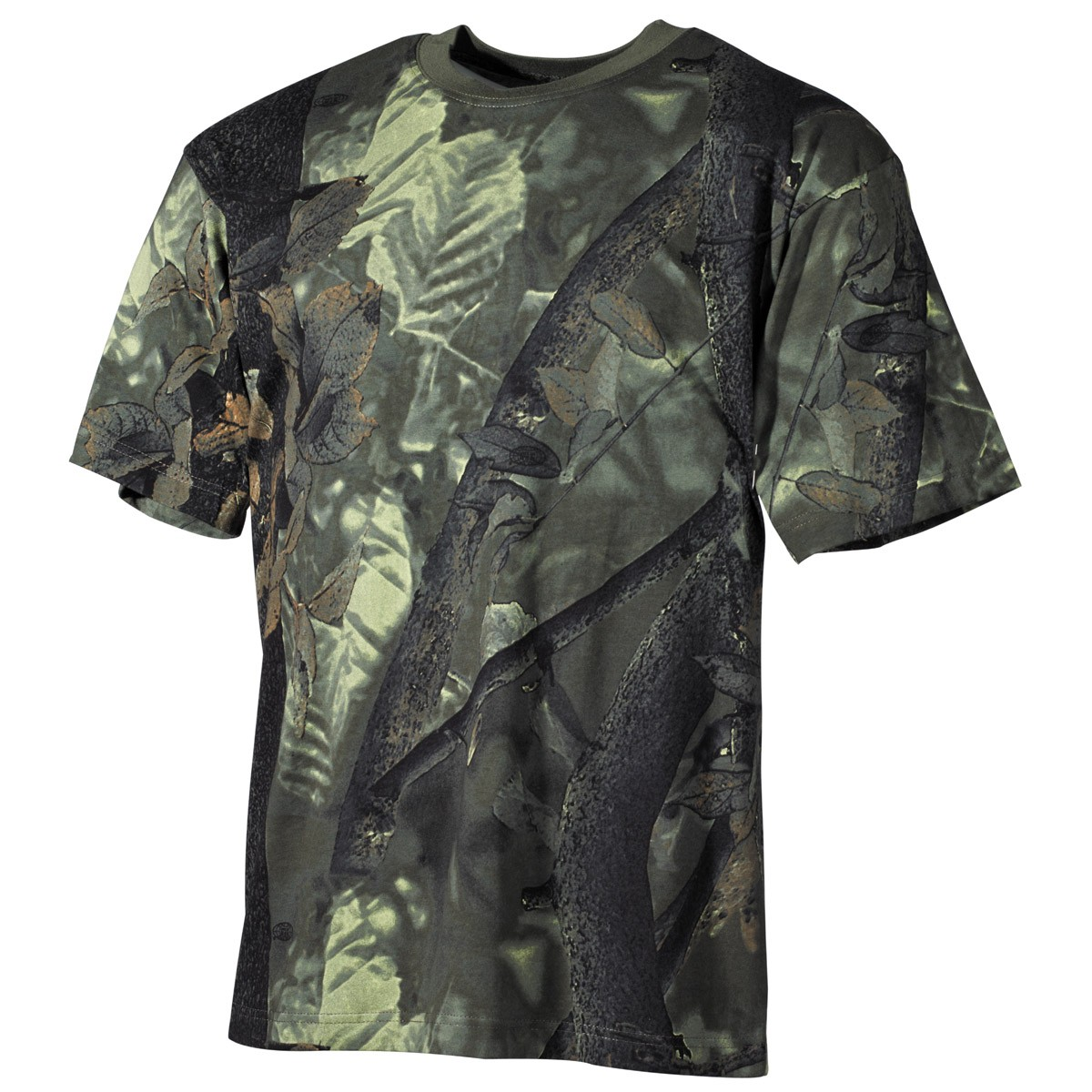 Tričko s krátkym rukávom MFH Hunter - hunter-green, S