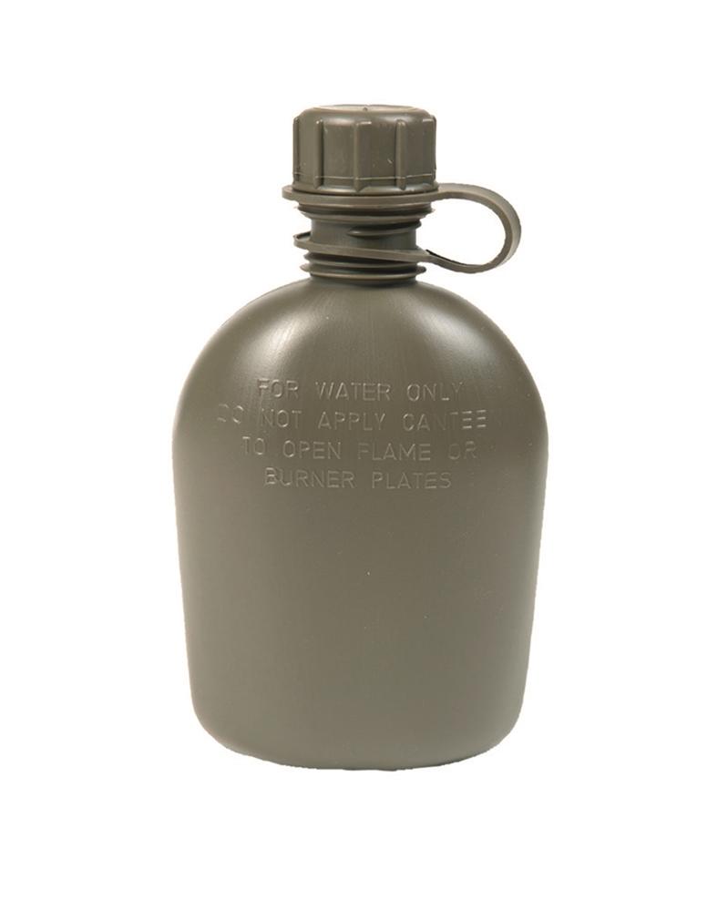 Láhev plastová samostatná US 1Qt - olivová