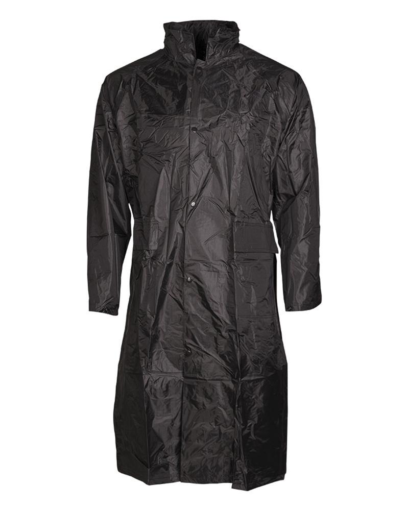Pláštěnka Mil-Tec PVC - černá