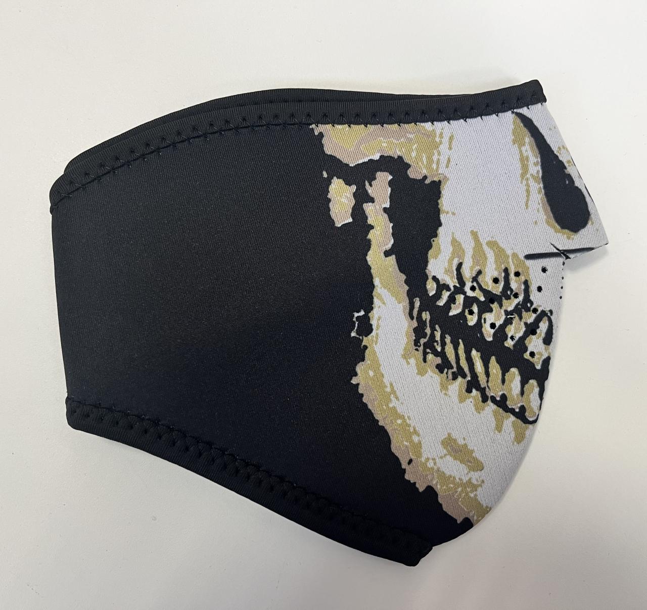 Maska Thermo Skull - černá