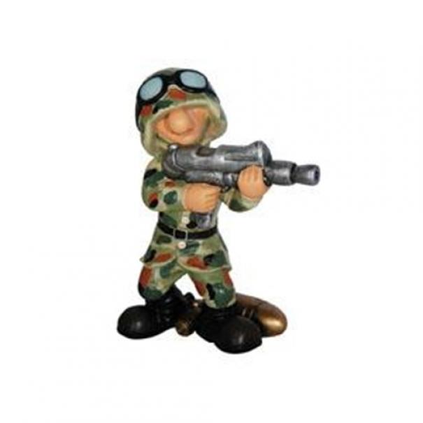 Model vojáka AB2 - flecktarn