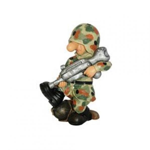 Model vojáka AB3 - flecktarn