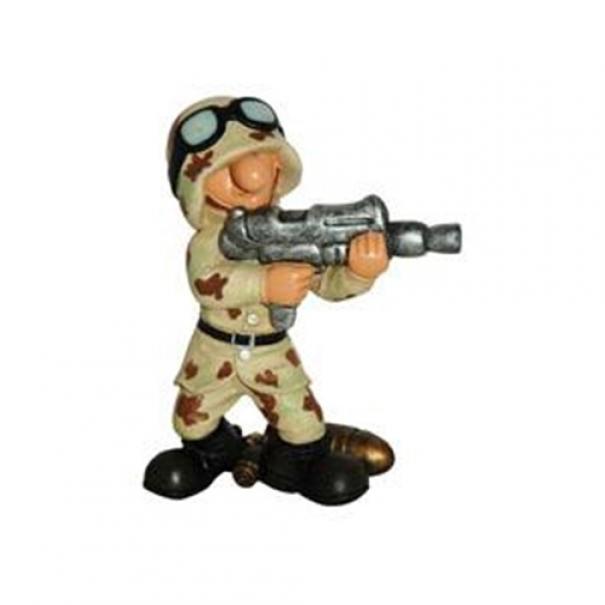 Model vojáka AB2 - desert