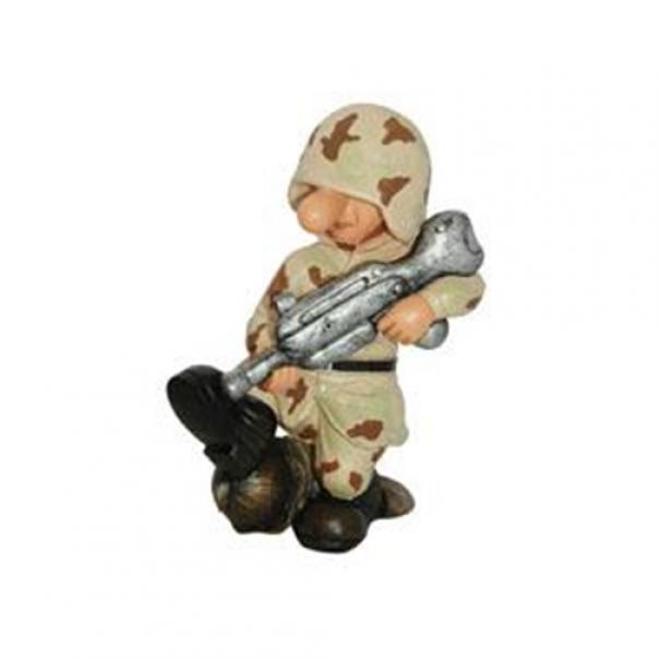Model vojáka AB3 - desert