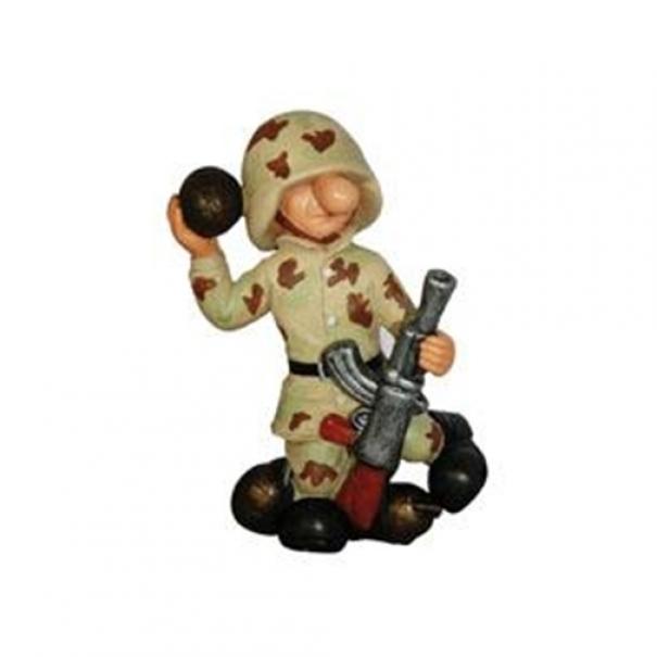 Model vojáka AB1 - desert
