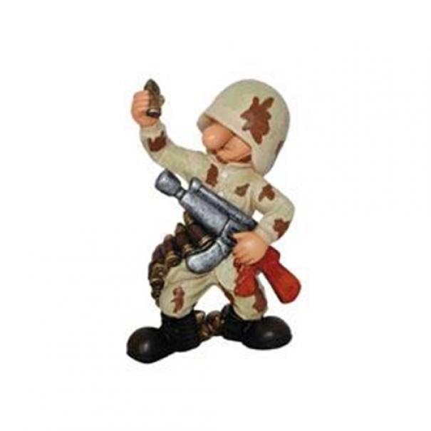 Model vojáka AB4 - desert