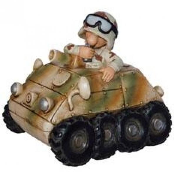 Model vojáka Money Panzerspaehwagen - desert
