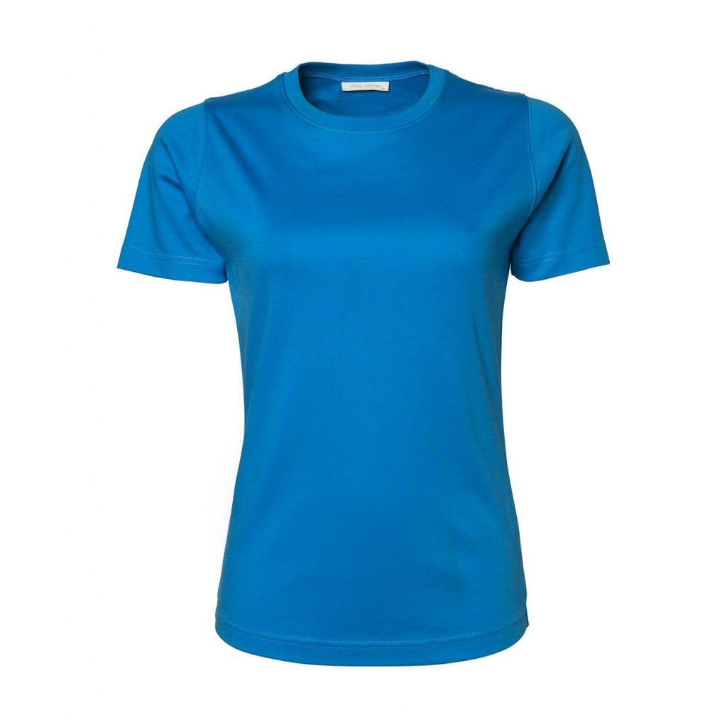 Triko dámské Tee Jays Interlock - modré