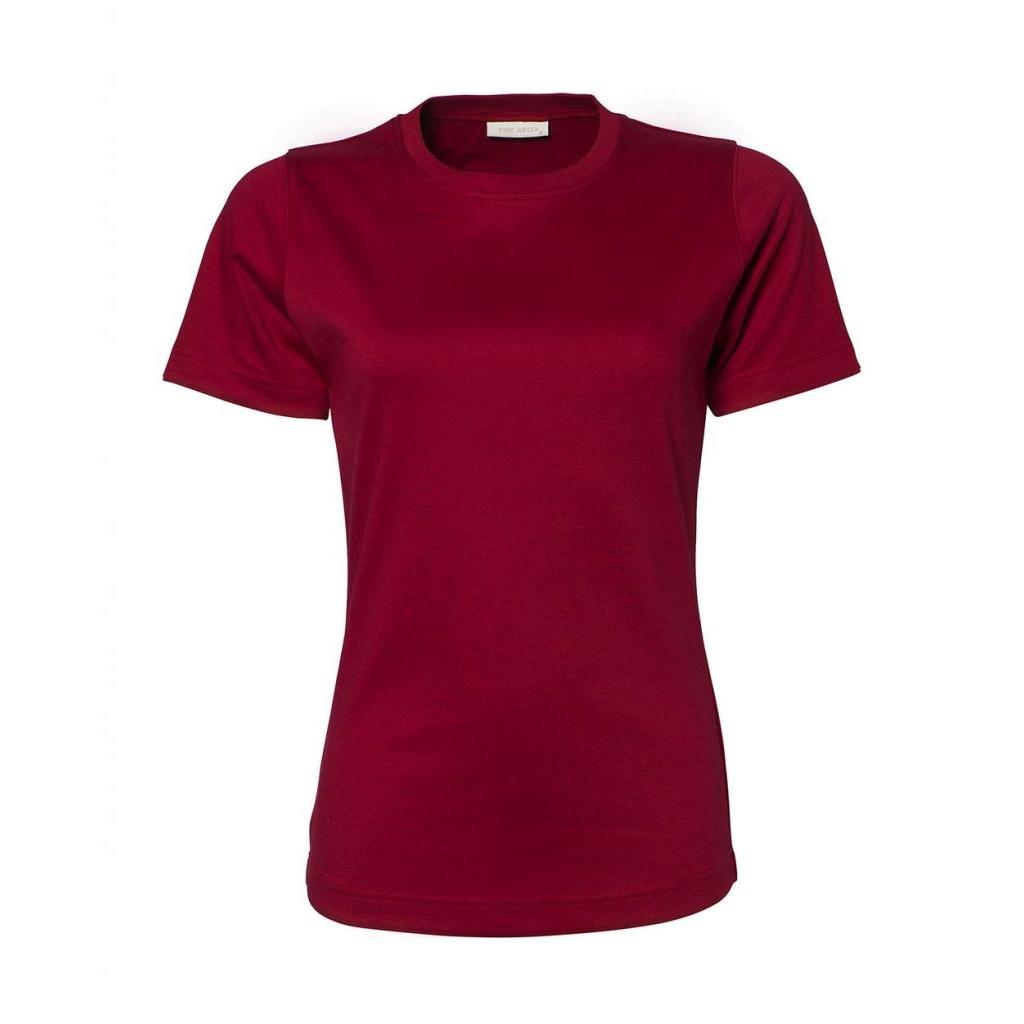 Triko dámské Tee Jays Interlock - červené