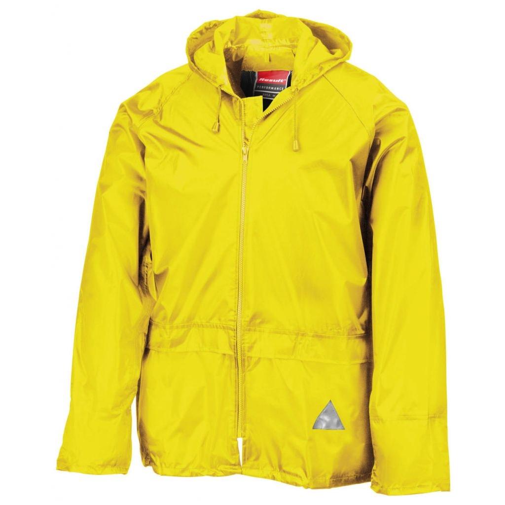 Komplet nepromokavý Result Weatherguard - žlutý
