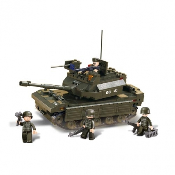Stavebnice Sluban Army Tank Makava M38-B6500