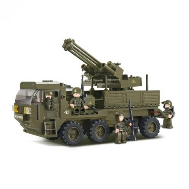 Stavebnice Sluban Army Protiletadlové vozidlo M38-B0302
