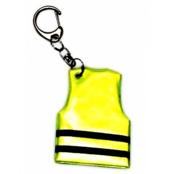 Reflexní přívěsek Altima Vest - žlutý