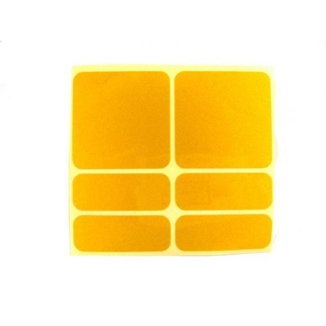 Reflexní samolepky Shaman - žluté