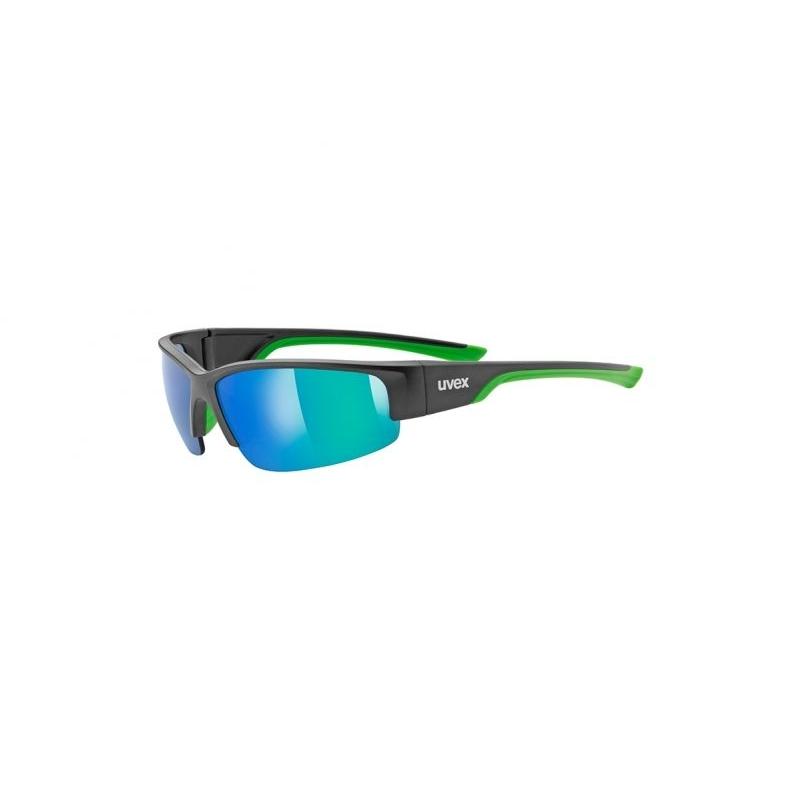 Brýle Uvex Sportstyle 215 - černé-zelené