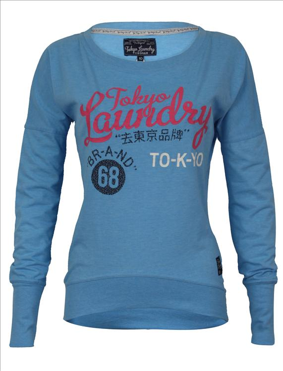 b8d598c820ba Mikina dámska Tokyo Laundry 68 - modrá - Tokyo Laundry
