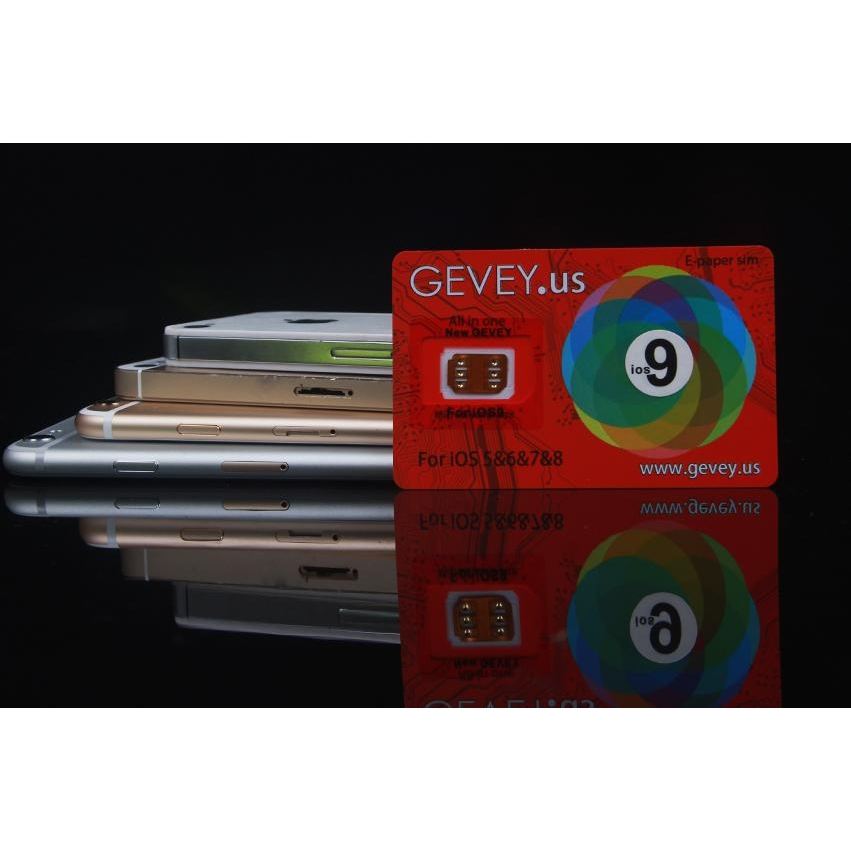 Gevey SIM Supreme pro Iphone 5, 5S, 6, 6S