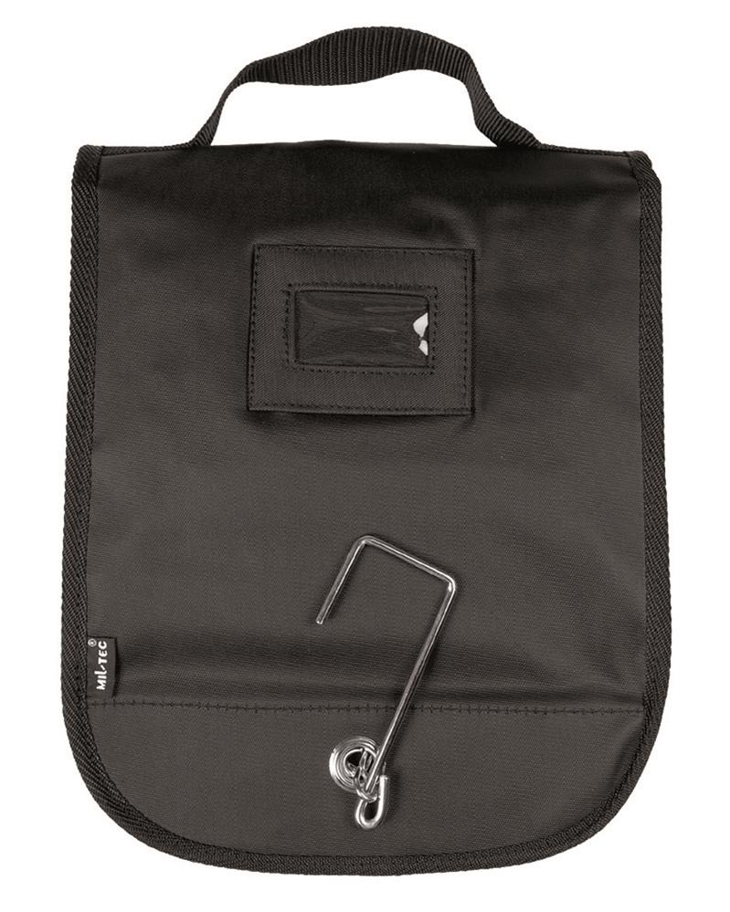 Toaletní taška velká Mil-Tec - černá