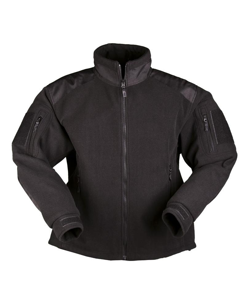 Fleece mikina Mil-Tec Delta - černá - Army shop a outdoor vybavení 8d9036103ff