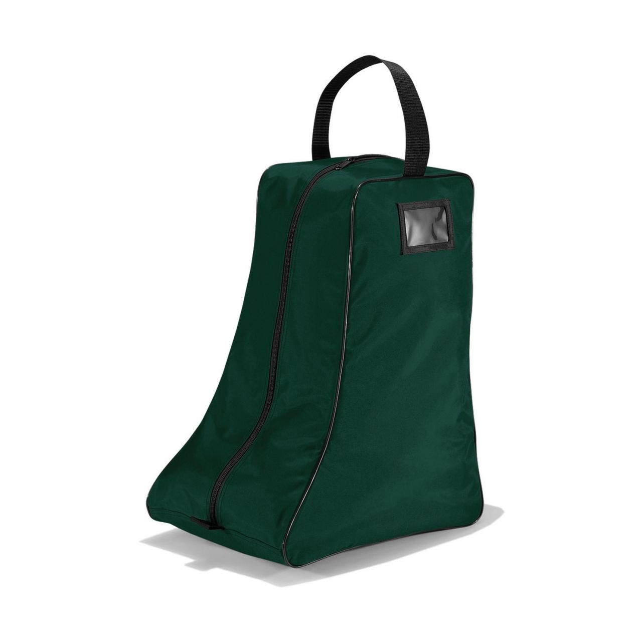 Taška na boty vysoká Quadra - zelená