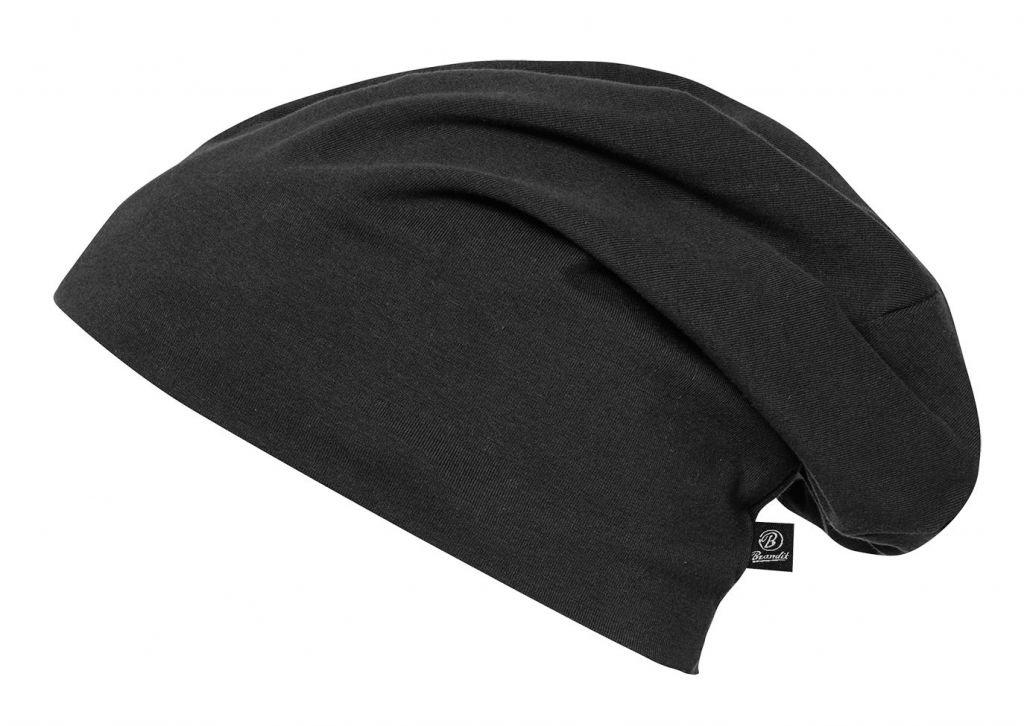 Čepice zimní Brandit Beanie Jersey - černá 5e906cd5b1