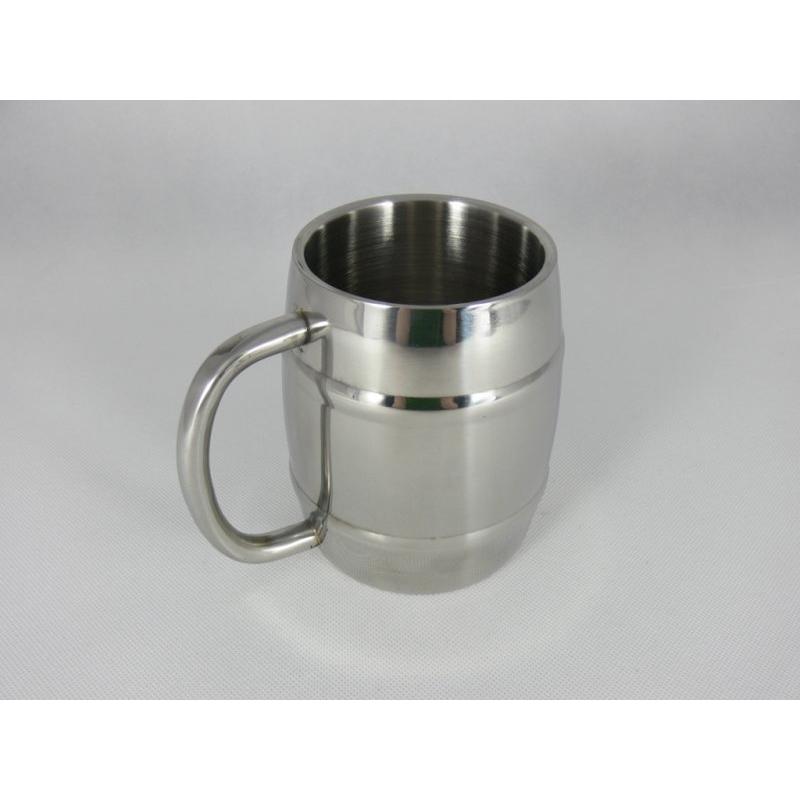 Půllitr Iron Chiller 0,45 - stříbrný